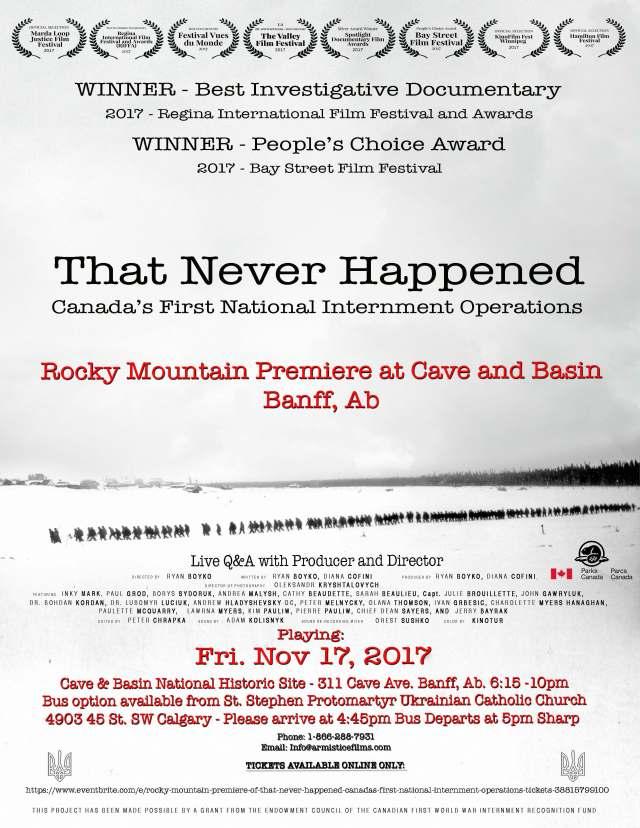 TNH Promo Poster 8.5x11 Banff copy